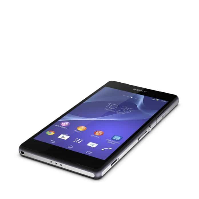 Sony Xperia Z2 mit 4K-Videofunktion