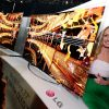 LG 4K OLED TV flexibles Display