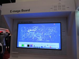 LG 4K Whiteboard