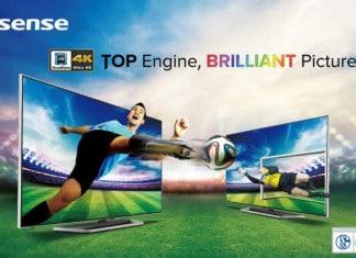 Hisense 4K-TV 55K681