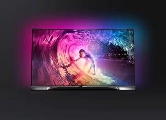 Philips 55PUS9809C 4K-Curved-TV mit Android
