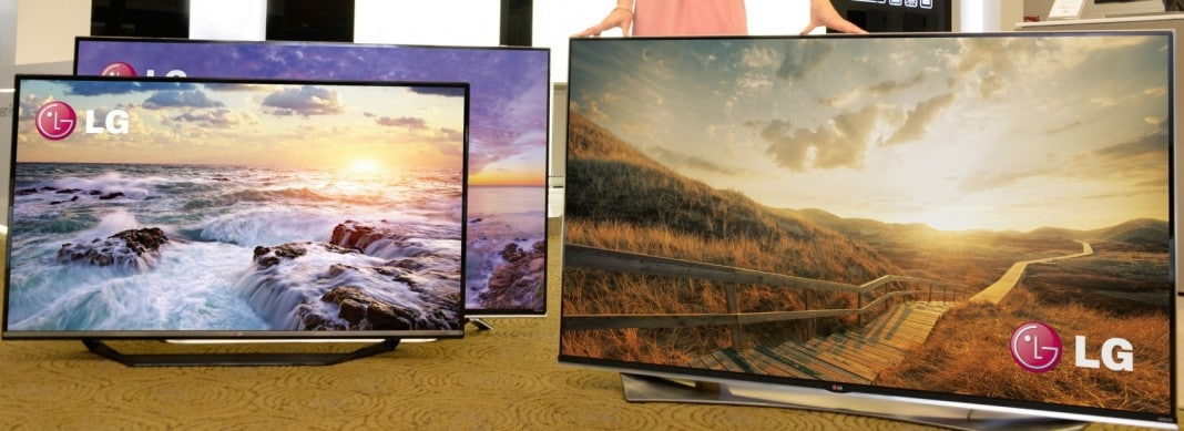 LG 4K Ultra HD TVs auf der CES 2015
