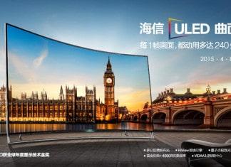 Hisense 65XT910 4K UHD Curved-TV