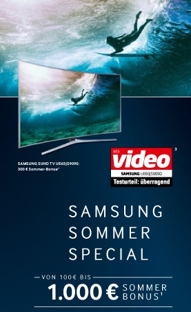 Samsung SUHD-Promo Sommer Special