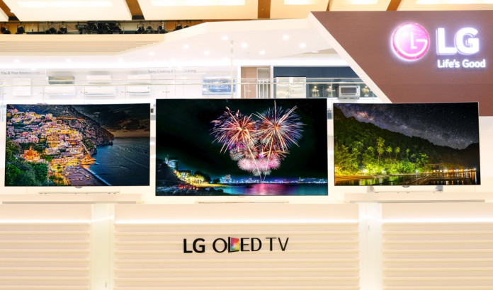 LG 4K OLED Lineup IFA