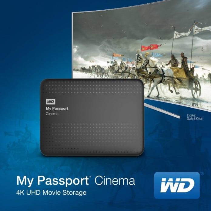 Western Digital Cinema 4K Ultra HD Festplatte