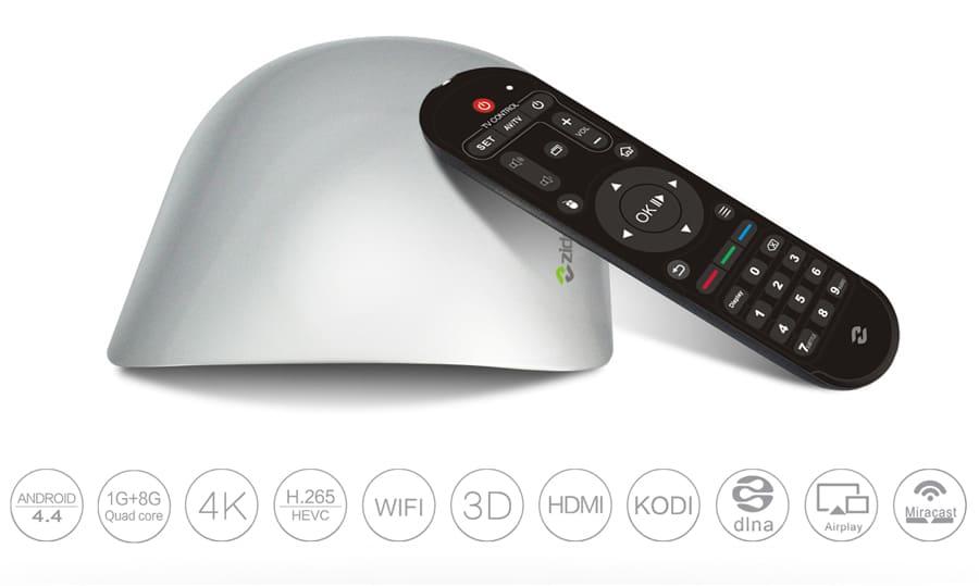 Zidoo X1 4K-Mediaplayer