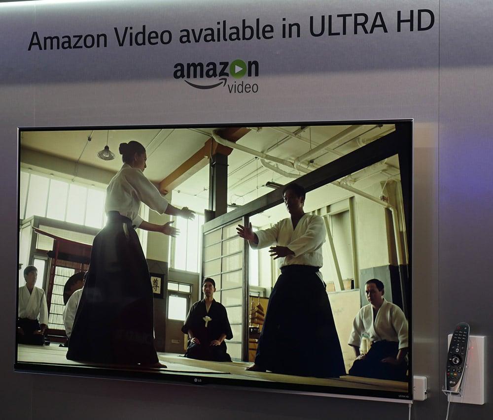 Amazon Prime Instant Video bietet Streaming in 4K