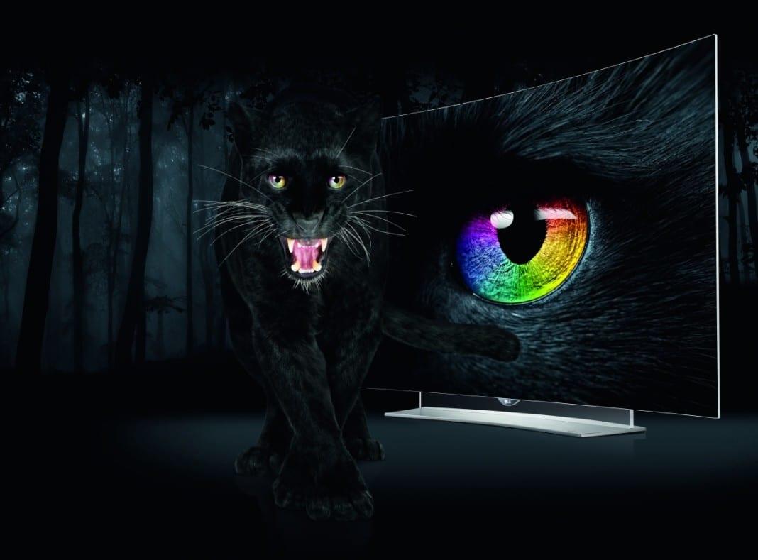LG EG9609 OLED-TV-Kampagne
