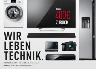 Panasonic 4K VIERA TV Cashback-Aktion