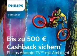 Philips 4K-TV Cashback