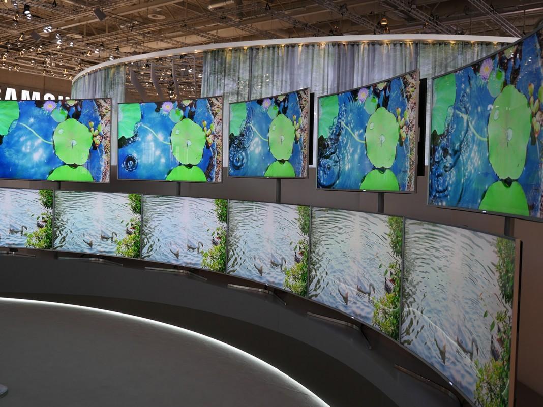 Samsung-TVs auf der IFA 2015