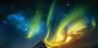 LG OLED Aurora Borealis