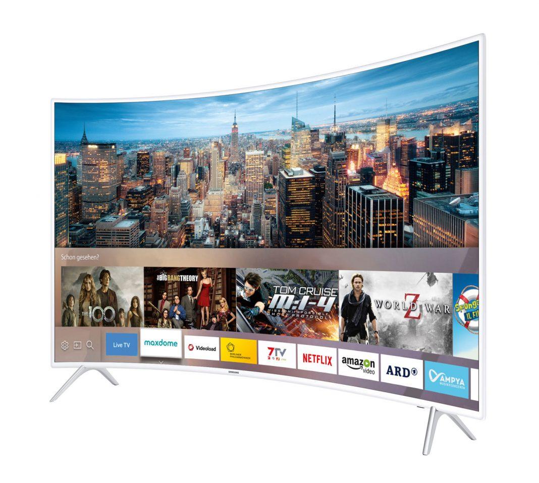 Samsung KU6519 4K-TV Curved