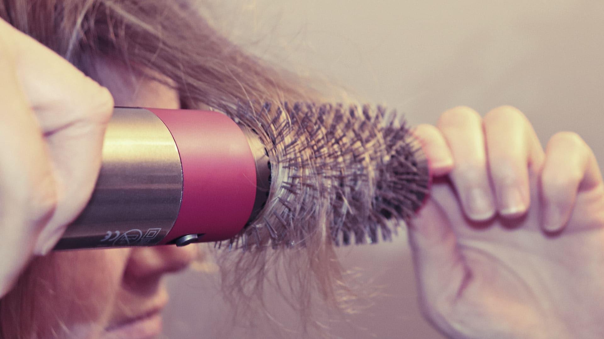 dyson airwrap kurze haare locken