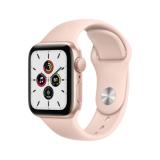 Apple Watch SE GPS 40mm Aluminiumgehäuse Gold Sportarmband Sandrosa
