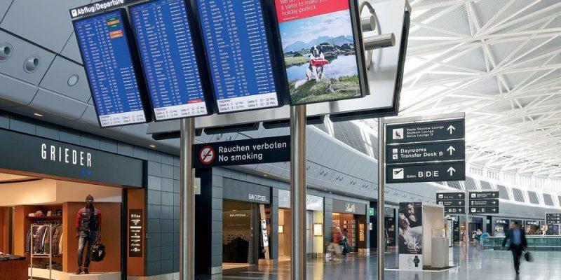 NEC stellt neue 4K-Displays für Flughäfen vor