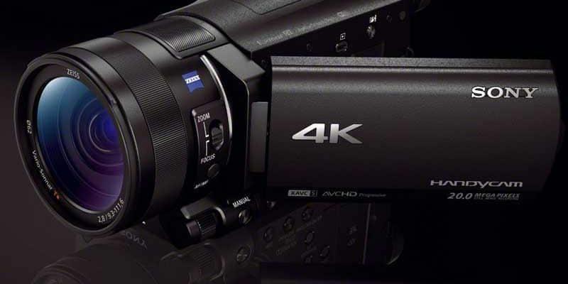 Sony AX100: 4K-Camcorder für unter 2000 Dollar