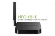 MINIX Neo X8-H: 4K-Player mit Android-Betriebssystem und Quad-Core-CPU