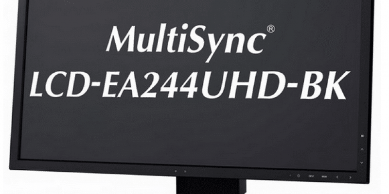 MultiSync EA244UHD: 4K-Monitor von NEC