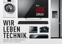 Panasonic 4K VIERA TVs: Cashback-Aktion bis zu 400 Euro