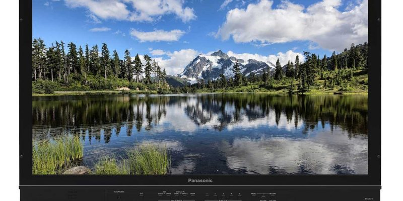 Panasonic BT-4LH310: 4K-Monitor ab sofort verfügbar