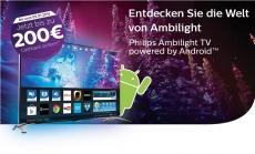 Bis zu 200 Euro Rückvergütung für 4K-TVs: Philips startet Cashback-Aktion