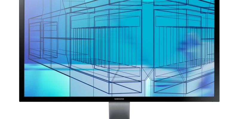 Samsung U28D590D: 4K-Monitor mit 28 Zoll