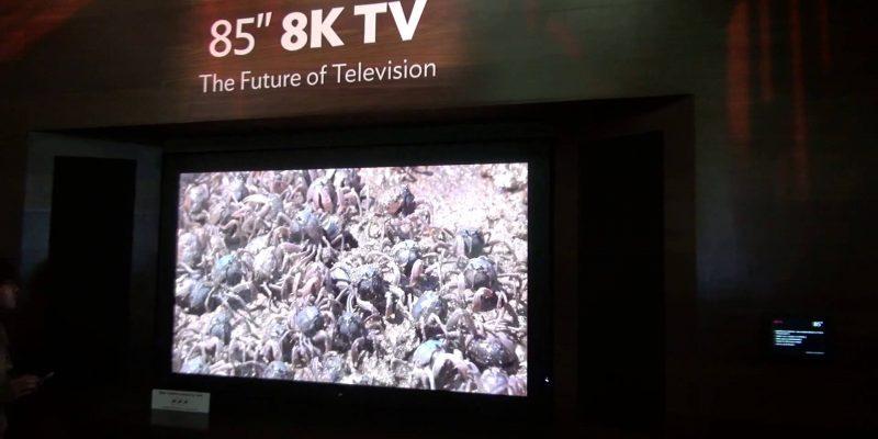 4K zu wenig: Sharp veröffentlicht 8K-TV mit 85 Zoll für 120.000 Euro