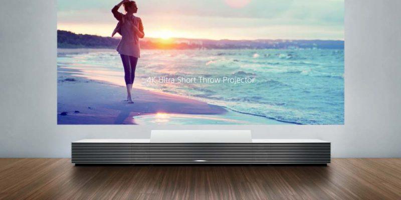 4K Ultra Short Throw Projector: 4K-Beamer von Sony