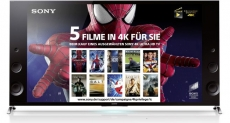 Aktion: Sony spendiert X9-Käufern 4K-Festplatte mit Blockbustern