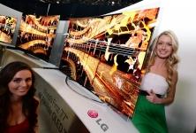 LG 4K OLED-TV mit flexiblem Design: LGs Vision für 2017