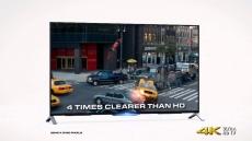 Sony startet riesige 4K-Werbekampagne in den USA