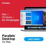 10% Rabatt auf Parallels Desktop Perpetual / Standard / PRO / Business